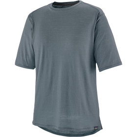 Patagonia Merino Short-Sleeved Bike Jersey Men plume grey